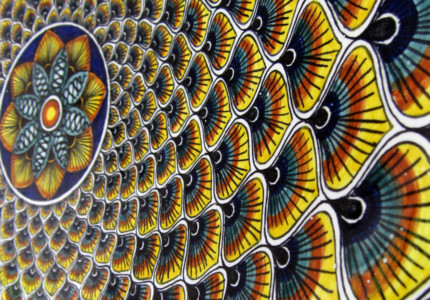 Best souvenirs from Italy - Detail of ceramics from a pottery factory in Deruta - by Douglas Hoyt