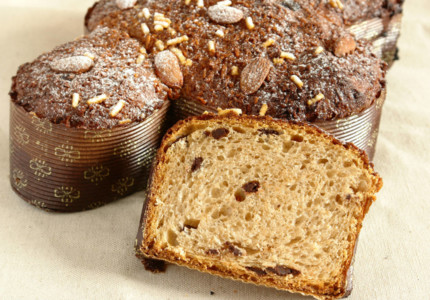 Chocolate-coconut colomba - by Francesca Longo