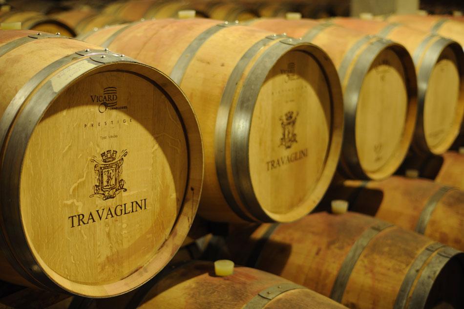 Travaglini wine cellar