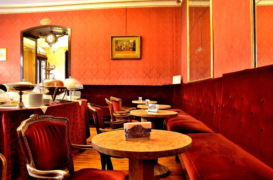 Turin, Caffe Fiorio