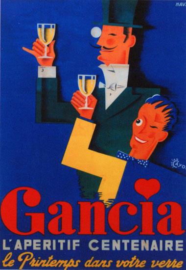 Vintage promotional poster