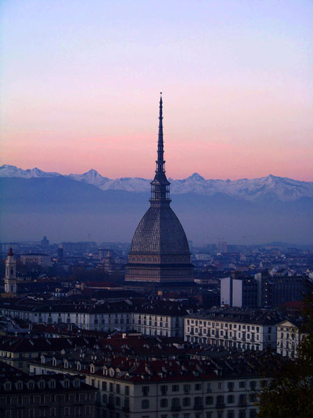 Turin, the Mole Antonelliana