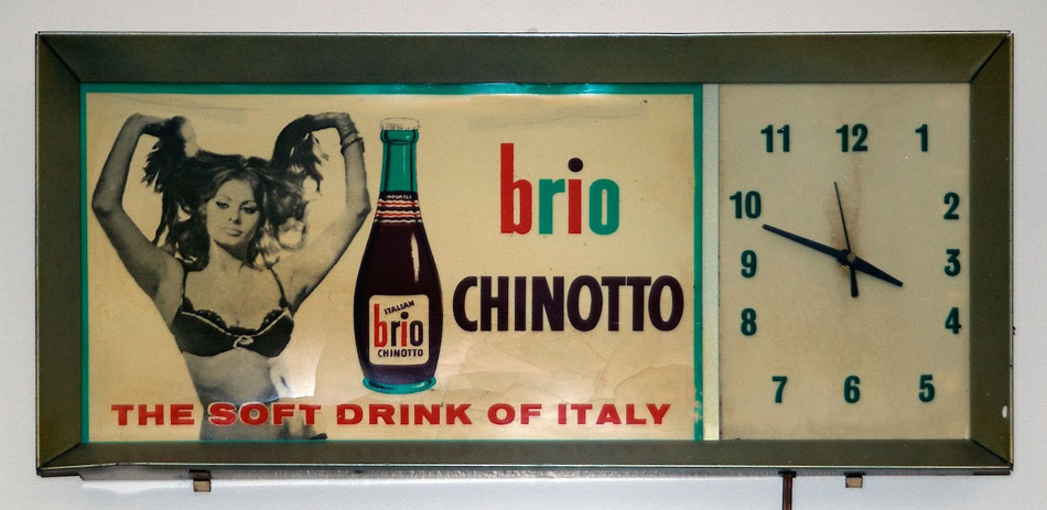 Sophia Loren promoting Brio Chinotto