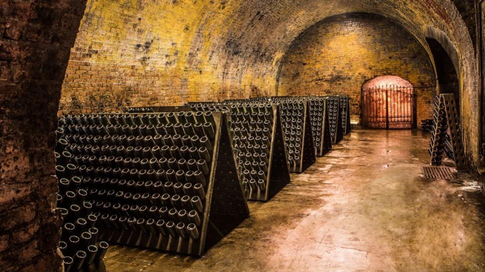 underground wine ageing tunnels