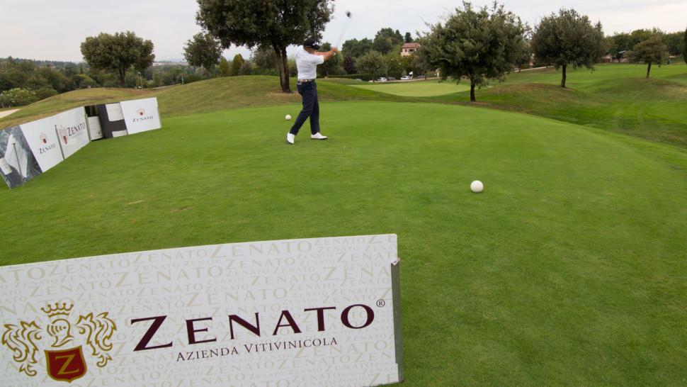 Golf tournament at Golf Club Paradiso. © Zenato Winery