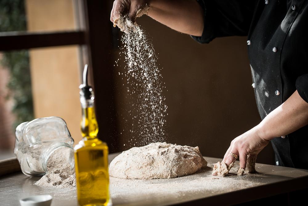 Making bread in Tuscany. ©Salvadonica Borgo del Chianti
