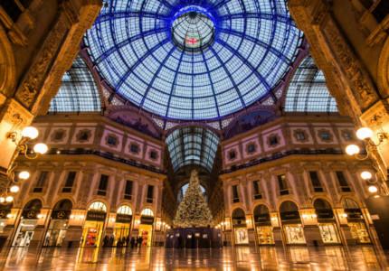 Galleria Vittorio Emauele II in Milan at Christmas