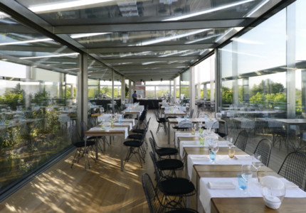 Dining with a view in Milan - © Terrazza Triennale
