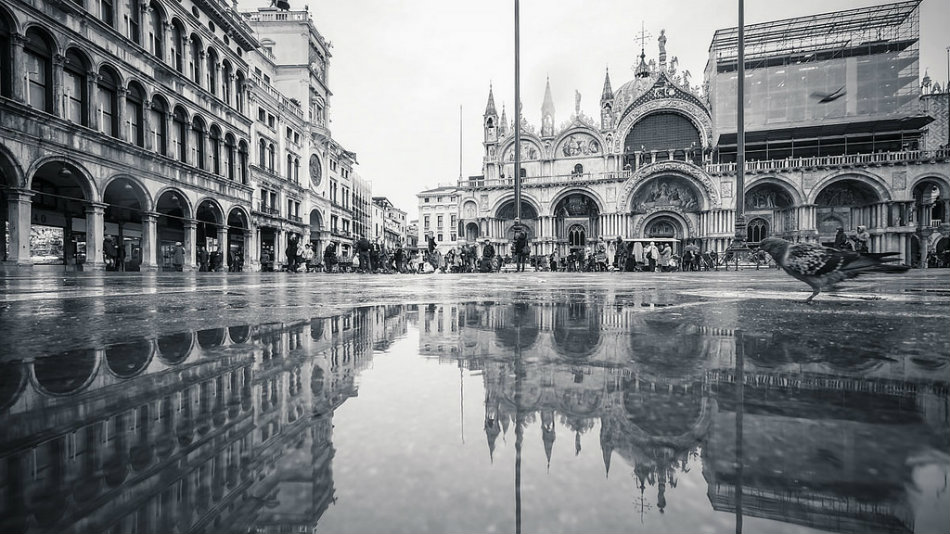 Even when it rains, Italy is beautiful - Venice