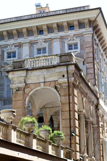 Palazzo Doria-Tursi on Via Garibaldi - © Alecia Wood