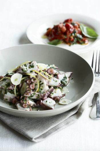 Cinque Terre food and wine: Octopus salad - by franzconde