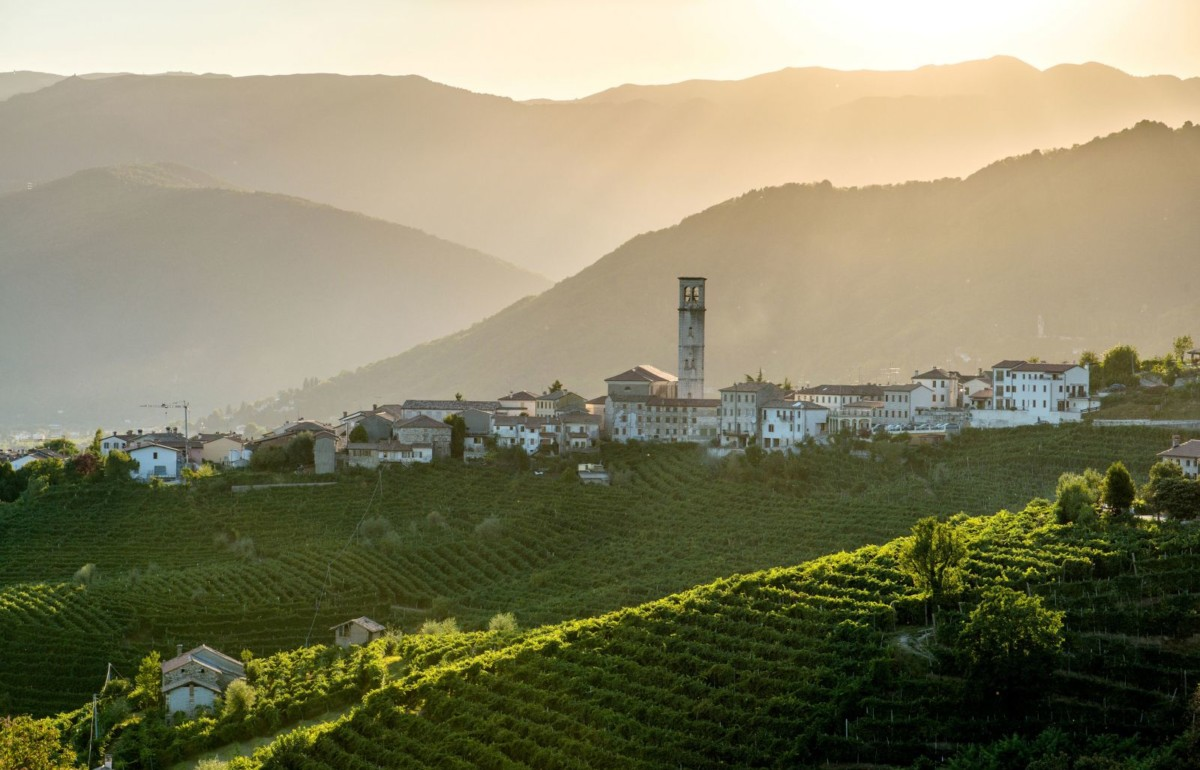 Valdobbiadene - veneto wine region