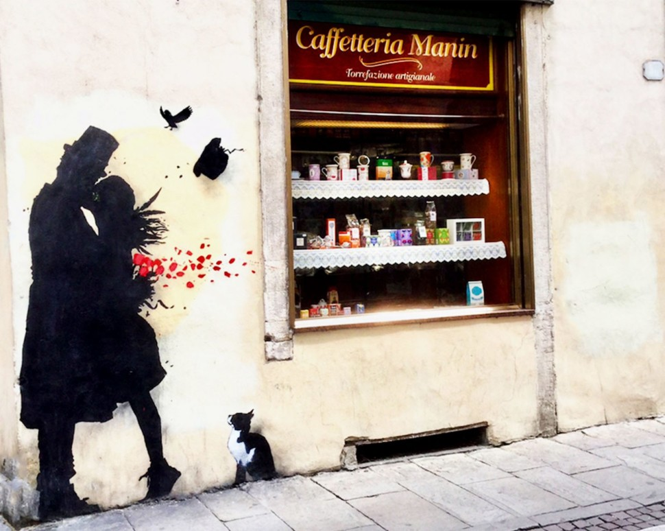 Caffè Manin in Padua - by Anna Lebedeva