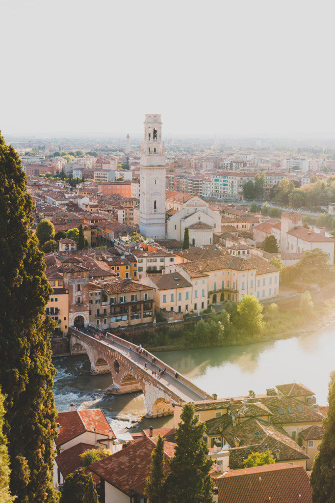 A landscape view of Verona