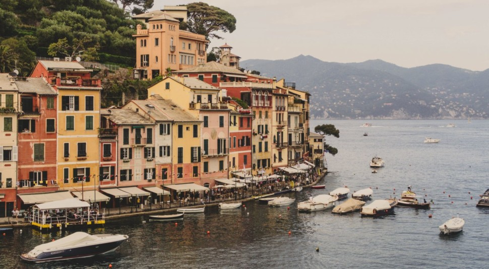 Portofino is surrounded by a marine park that is a top spot to scuba dive in Liguria