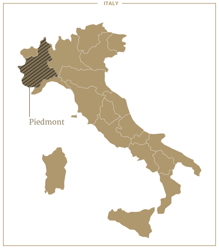 Barolo Wine Region Italy Map.Piedmont The Grand Wine Tour