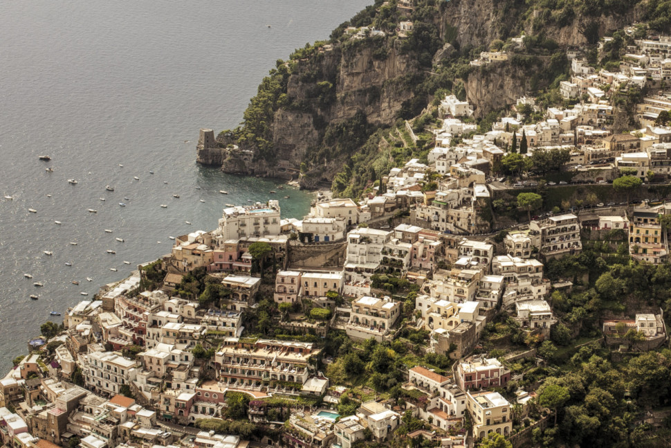 positano in campania is a great italian wine region