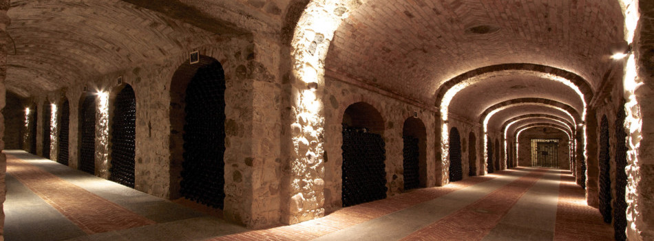 Underground cellars - Sparkling experience with The Grand Wine Tour