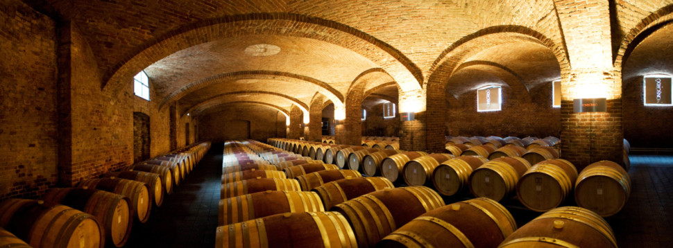 Ceretto's winery, Piedmont, Italy